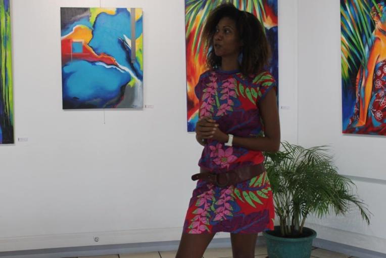 Métissage, la 1ère exposition polynésienne de Nathalie Euryale