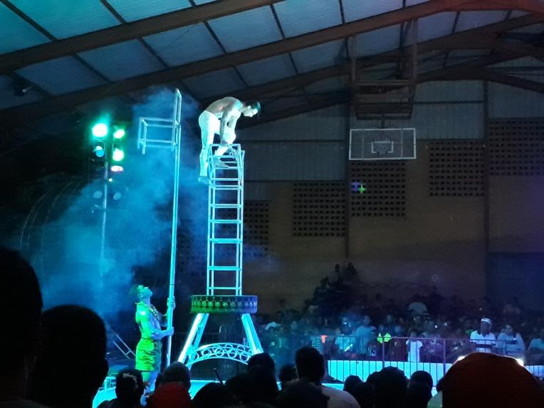 Page enfant : Le cirque de Samoa en représentation jusqu'au 24 mars