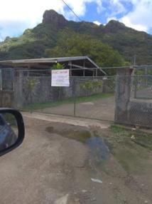 Depuis lundi, l'école est fermée. Elle rouvrira le 25 mars, aux heures habituelles. Photo facebook D Besson.