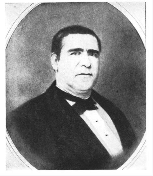 Ce portrait d'Alexandre Salmon témoigne du caractère décidé de l'homme. Malheureusement, à 46 ans, il fut emporté par une épidémie de dysenterie.