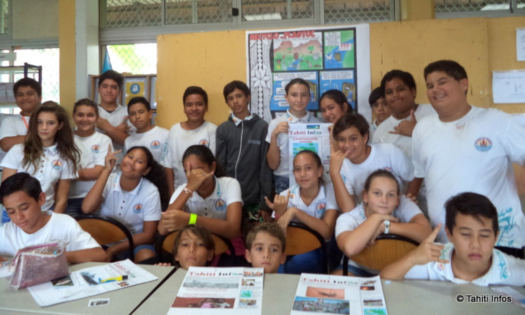Les élèves étaient ravis de cet atelier mêlant travail manuel, recherche sur ordinateur, écriture et rencontre avec Munoz !