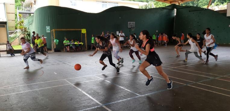 Du foot, du basket et du volley étaient proposés