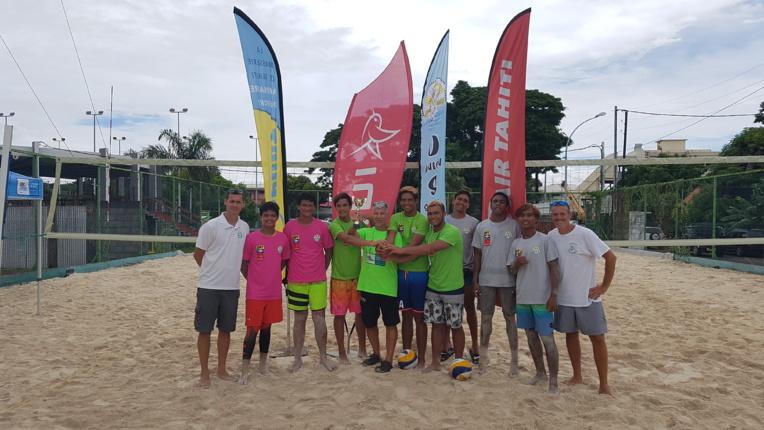 Du beach volley était également au programme