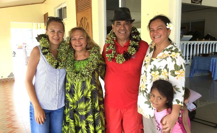 Un camp famille à Toahotu