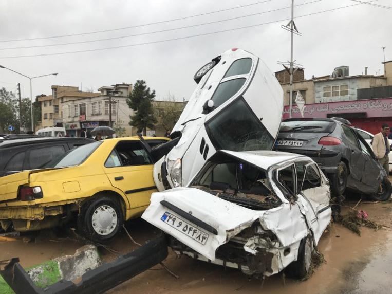 En Iran, des inondations d'une rare ampleur font au moins 21 morts