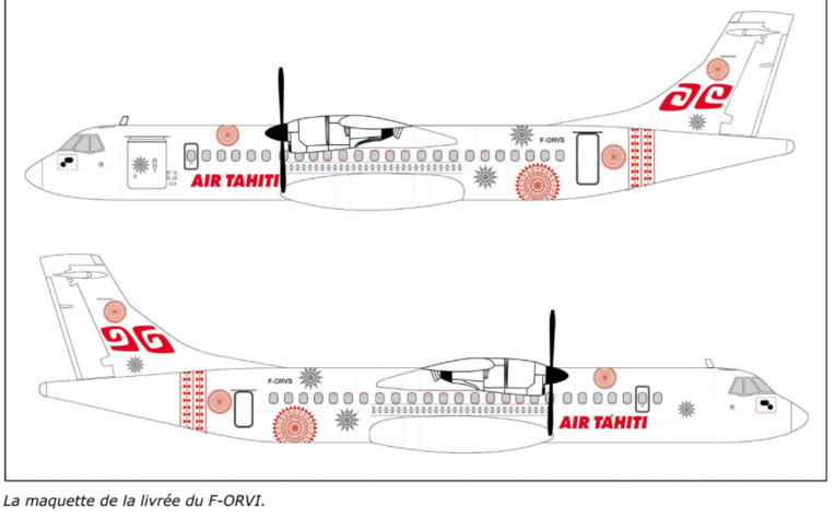 Un ATR 72-600 en leasing pour Air Tahiti