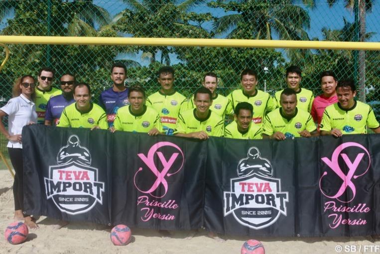Une nouvelle équipe de beach soccer vient d'être créée