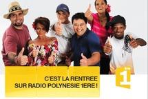 C'est la rentrée sur radio Polynésie 1ère...tous à vos postes!