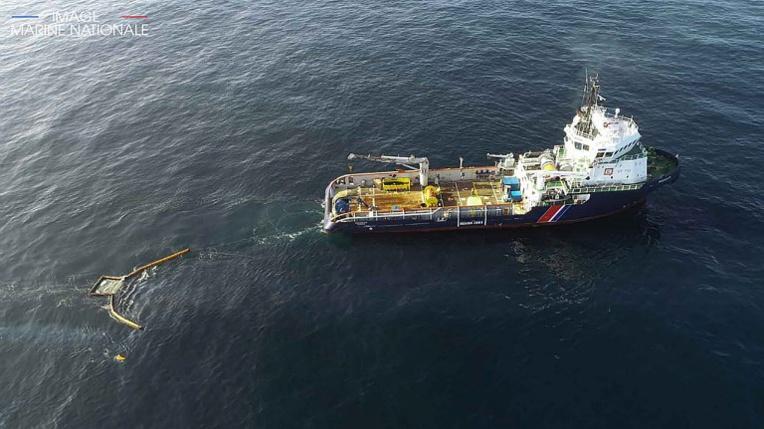 Grande America: arrivée à La Rochelle des premiers conteneurs de déchets d'hydrocarbures