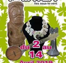 Le premier salon artisanal de Raiatea à Papeete