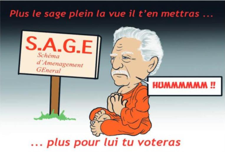 """"""" Le S.A.G.E """" vu par Munoz"""