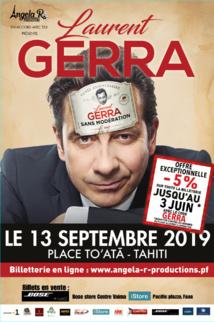 Laurent Gerra revient en Polynésie le 13 septembre