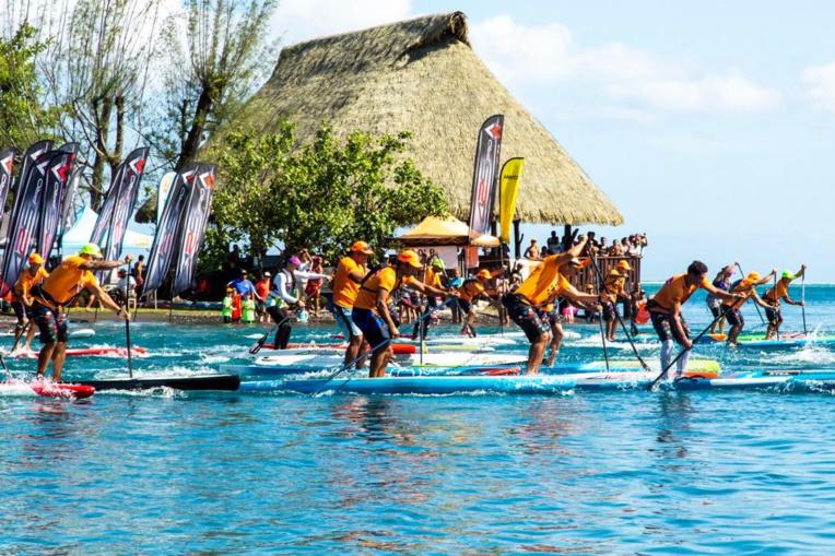 La course de Sup compte pour le championnat de Polynésie © WTT/Jérôme Brouillet