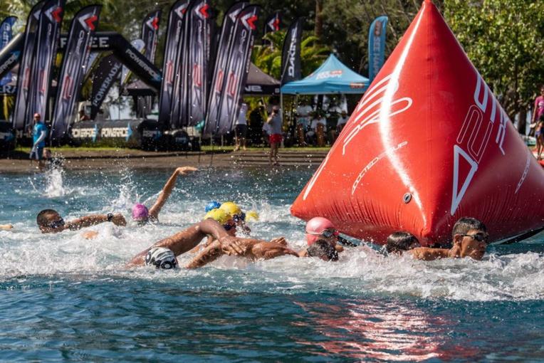 La nage en eau libre était également au programme © WTT/Jérôme Brouillet