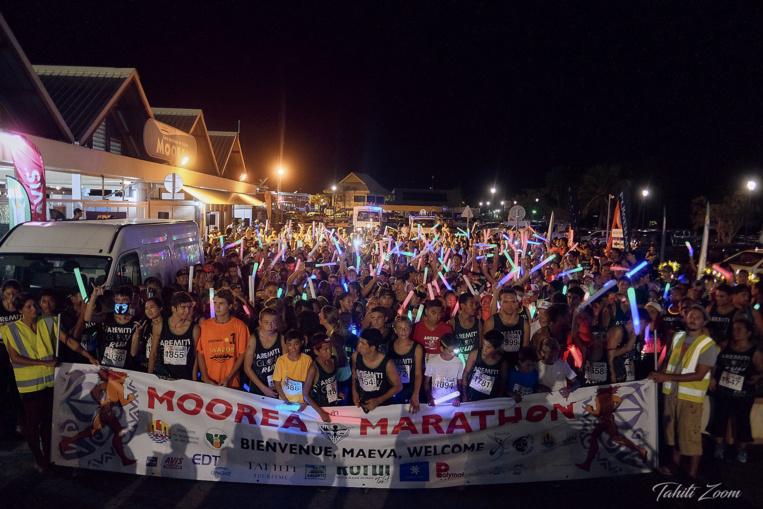 Course à pied – Marathon International de Moorea : Plus de 1200 participants dont une cinquantaine de visiteurs