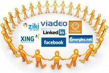 La moitié des adultes américains fréquentent les réseaux sociaux