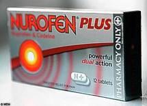 Nurofen Plus retiré du marché en Grande-Bretagne, à cause d'un sabotage présumé