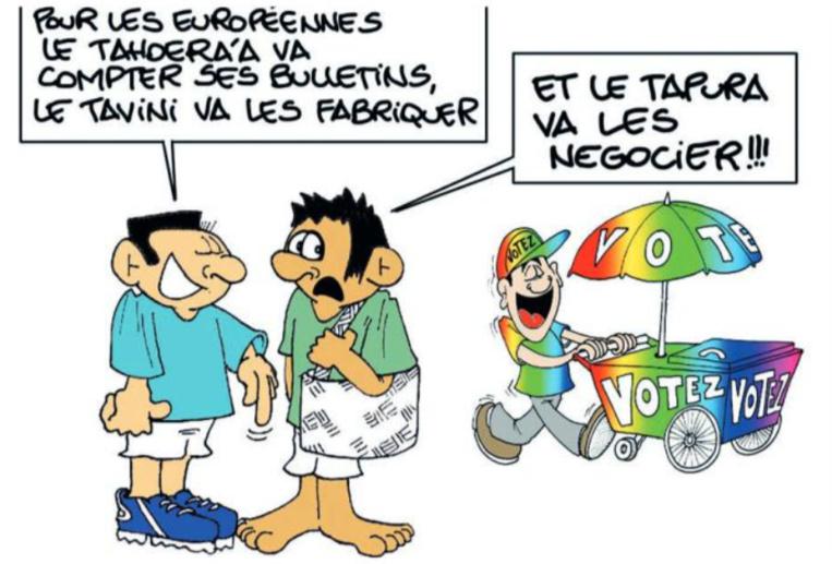 """"""" Les Européennes """" vu par Munoz"""