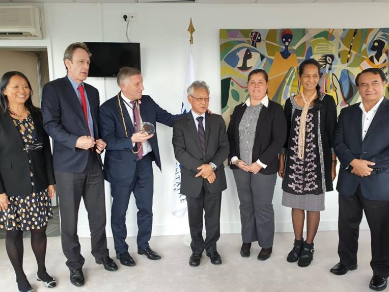 Rencontre avec Jacques KRABAL, secrétaire général parlementaire de l'assemblée parlementaire de la Francophonie.