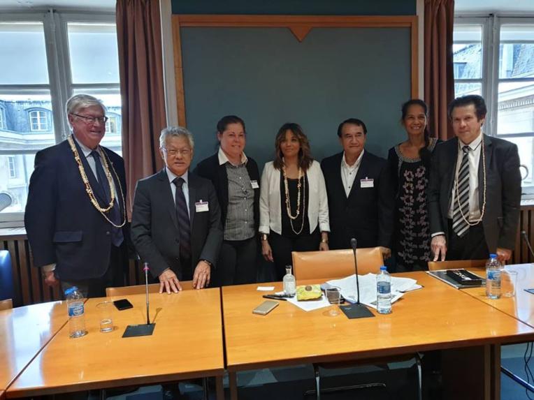 Rencontre avec Maud Petit et Didier Quentien, VP délégation Outre-mer.
