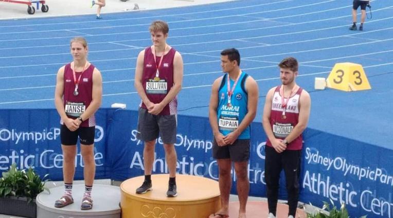 Belle médaille de bronze pour Teura Tupaia