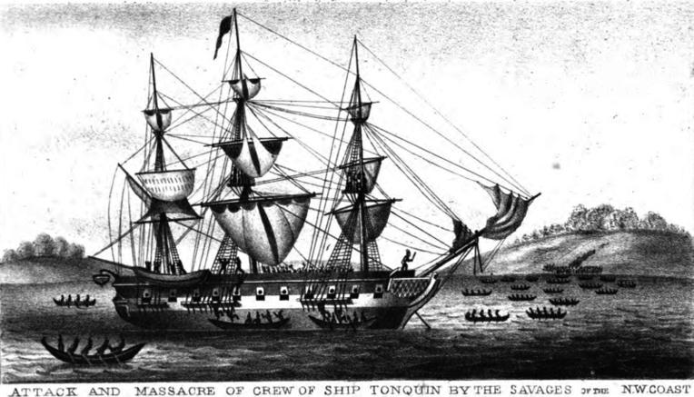 Lorsque Fanning devint un riche homme d'affaires, le plus fier de ses navires fut le Tonquin qu'il fit construire pour la Fanning & Coles Cie.