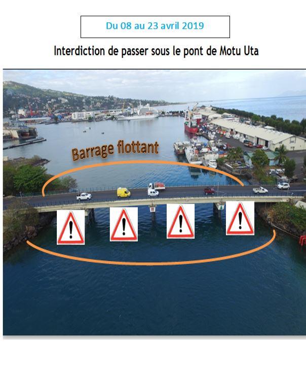 Crédit : Port autonome de Papeete.