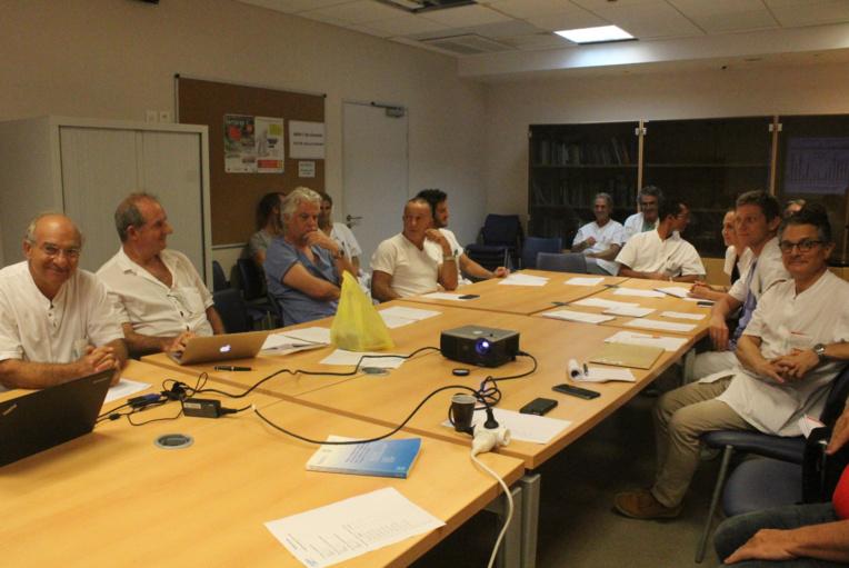 Le Syndicat des praticiens hospitaliers de Polynésie française était réuni jeudi 4 avril lors de son assemblée générale.
