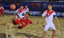 Beach-Soocer: Les Tiki Toa ont résisté face au champion d'Europe