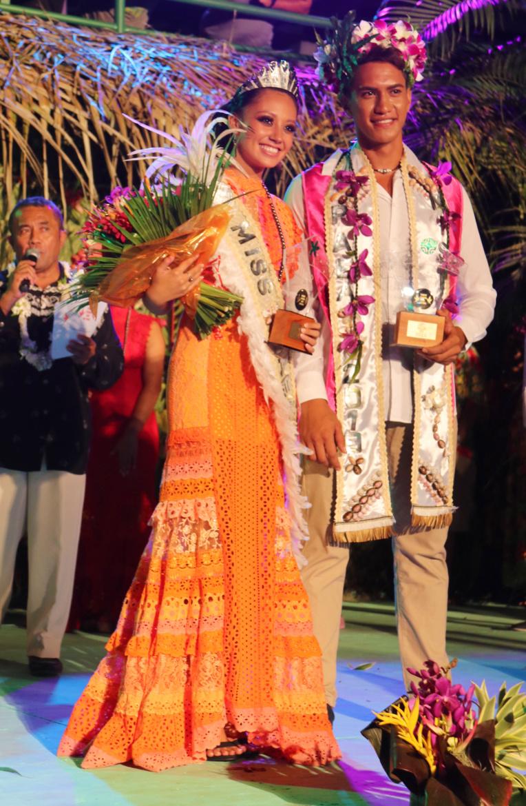Le jury a décerné les titres de Miss et Mister Paea 2019 à Hereiti Gooding et Harcher Pere.