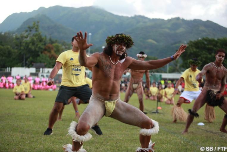 Une délégation de Rapa Nui a proposé un spectacle de danses traditionnelles