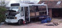Tour du monde à bord d'un autobus roulant à l'huile de friture