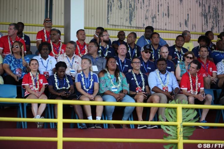 Plus d'une cinquantaine de représentants du football international sont à Tahiti pour plusieurs séminaires en marge de Festival des îles