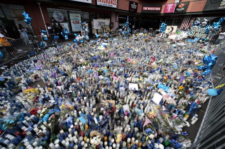 Los Angeles fait ses adieux au rappeur assassiné Nipsey Hussle