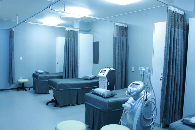 Les rideaux d'hôpitaux sont des nids à bactéries