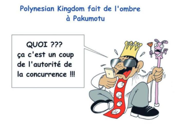 """ Polynesian Kingdom "" vu par Munoz"