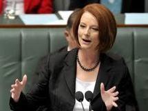 la Première ministre Julia Gillard