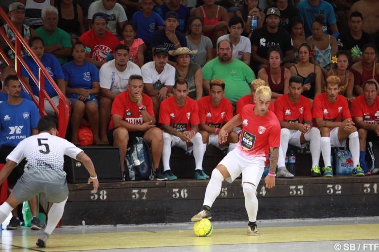 Trois buts ont été marqués par Rapa en première période