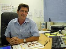 Christophe Marquand, le Directeur d'antenne de Polynésie 1ère
