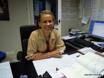 Valérie Patole, directrice d'antenne TV de Polynésie 1ère
