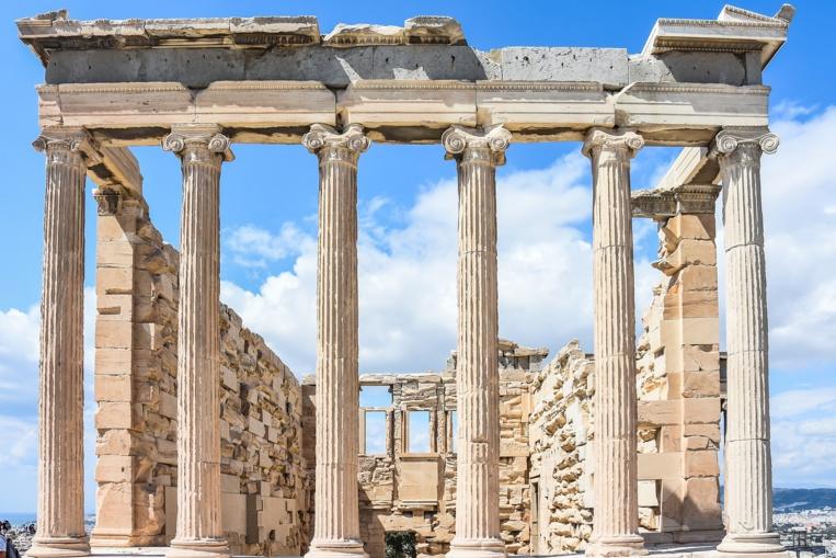 Grèce: la foudre sur l'Acropole fait quatre blessés