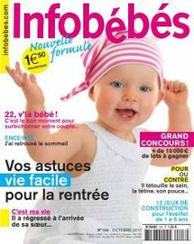 Mise en garde du magazine Infobébés sur l'âge d'utilisation d'un hochet