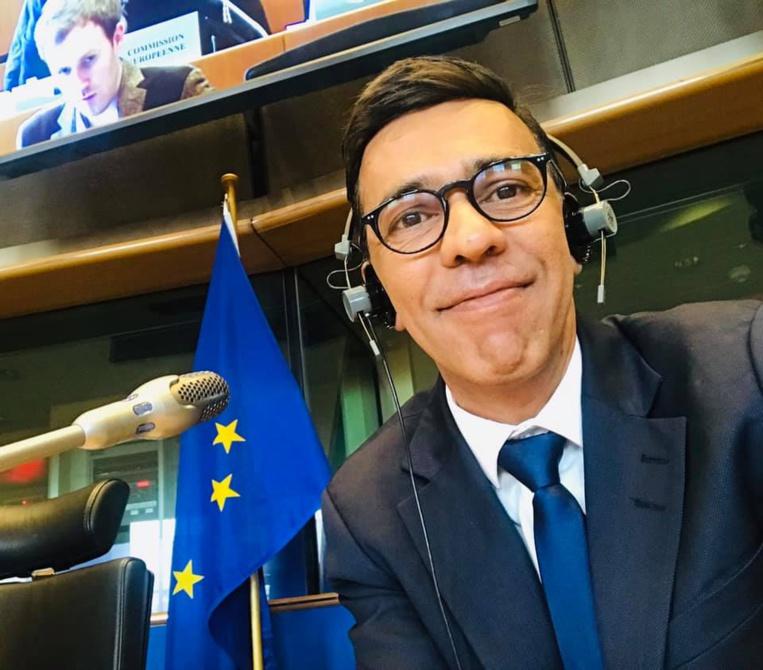 Younous Omarjee figure en quatrième place sur la liste  France Insoumise pour les élections européennes.