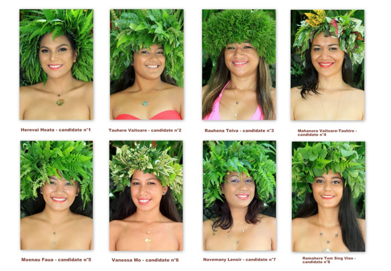 Qui sera la nouvelle Miss Hitiaa o te Ra 2019 ?