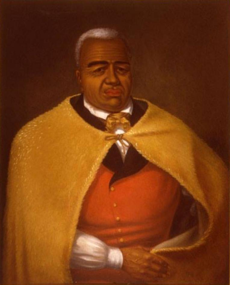 Kamehameha I accepta de négocier avec Bouchard et signa même le premier traité de paix, de commerce et d'amitié reconnaissant la souveraineté de l'Argentine, fraîchement indépendante de l'Espagne.