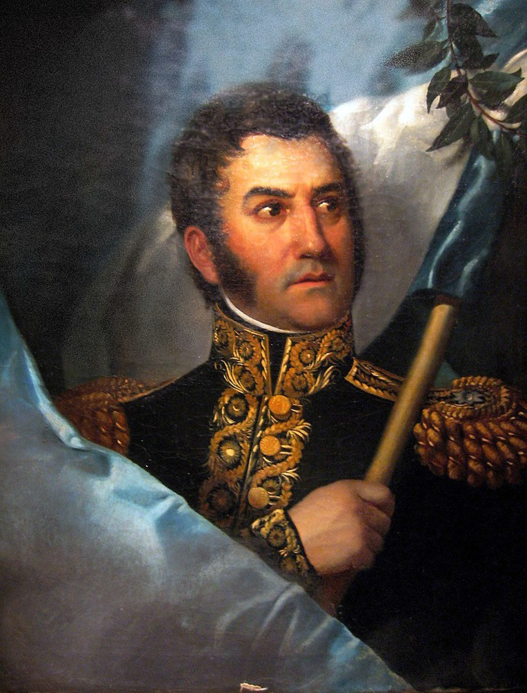 José de San Martin, père de l'indépendance du Pérou, enrôla Bouchard dans sa guerre d'indépendance et en fit le patron de la jeune marine péruvienne.