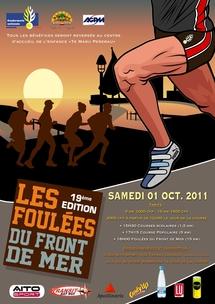 """Les foulées du front de mer, un évènement sportif au profit de l'association """"Te manu Pererau"""""""