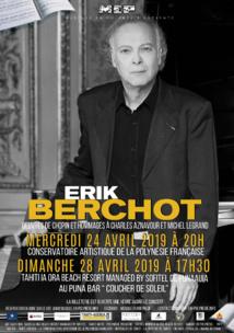 """Le pianiste Érik Berchot rend hommage aux """"grands hommes de sa vie"""""""
