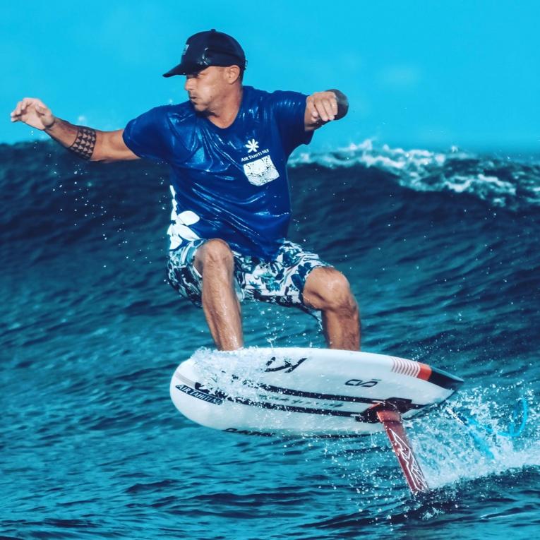 Fred Morin réussit à vivre de sa passion pour les sports nautiques