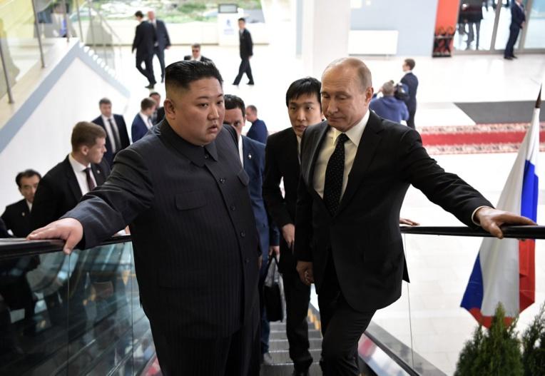 """Après le fiasco d'Hanoï, Kim ravive les """"liens historiques"""" avec Moscou"""